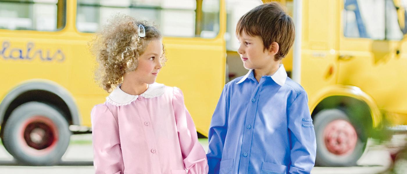bambini abbigliamento scuola