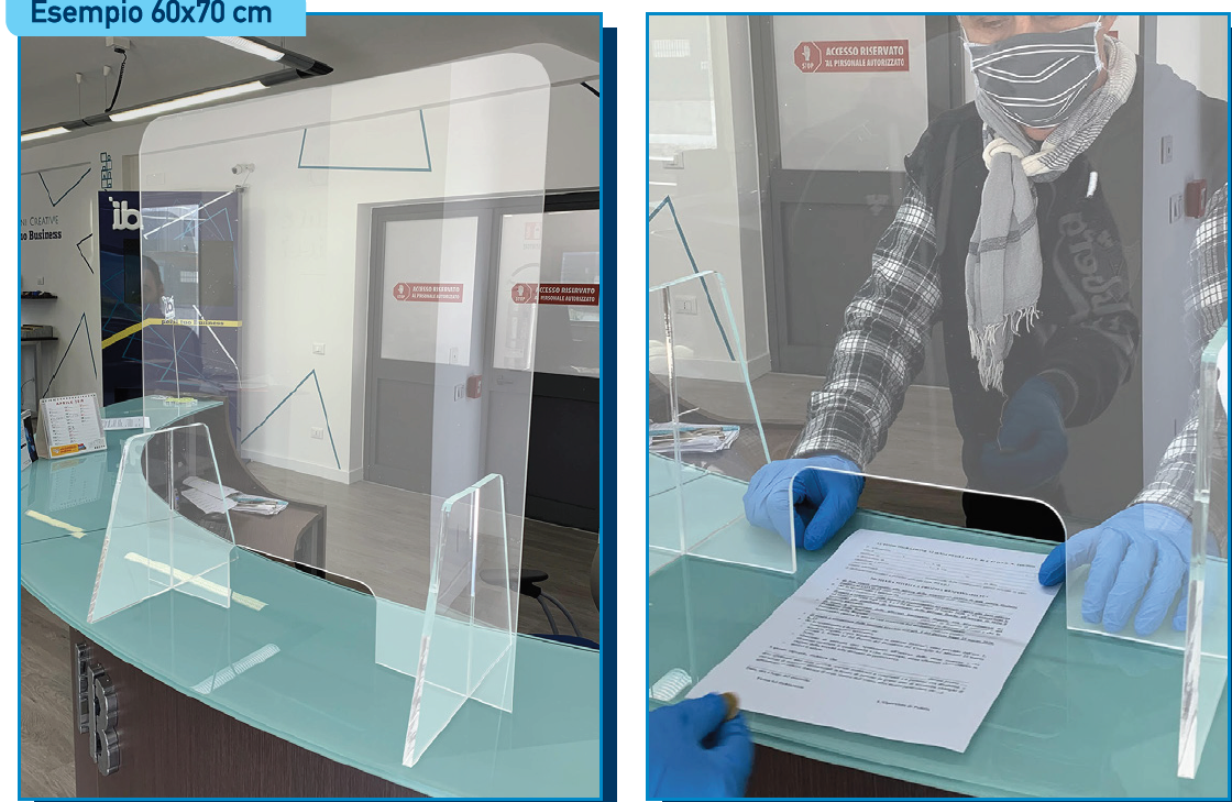 Divisori In Plexiglass Per Esterni dispositivi protezione coronavirus - new goose's